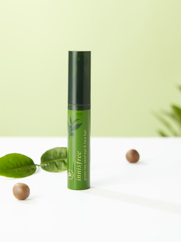 INNISFREE Green Tea Seed Eye & Face Ball 10 ml - Misumi Cosmetics Nepal
