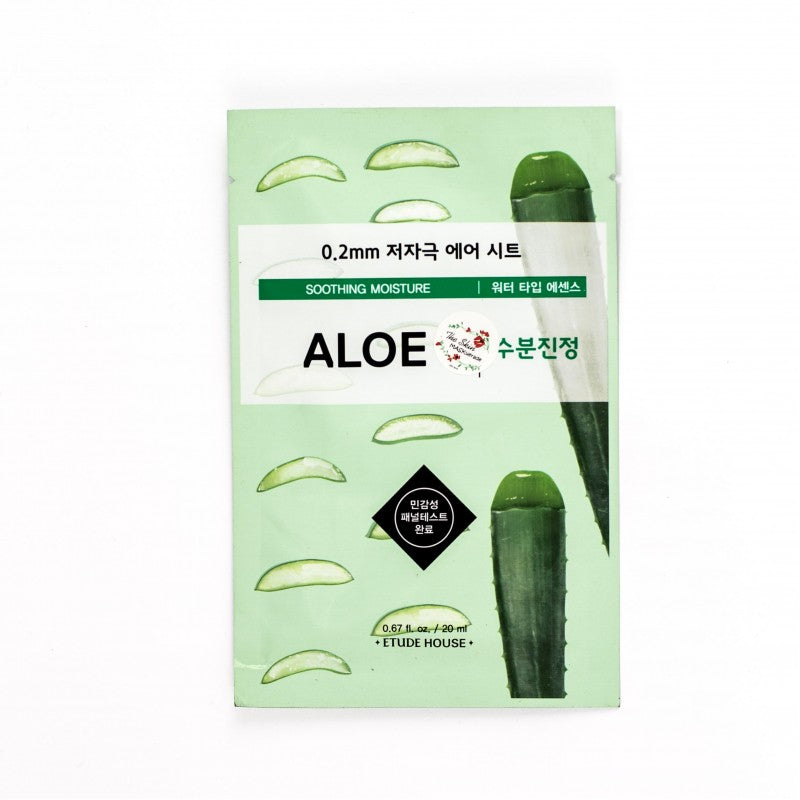 Etude House Therapy 0.2 Air Mask Aloe - Misumi Cosmetics Nepal