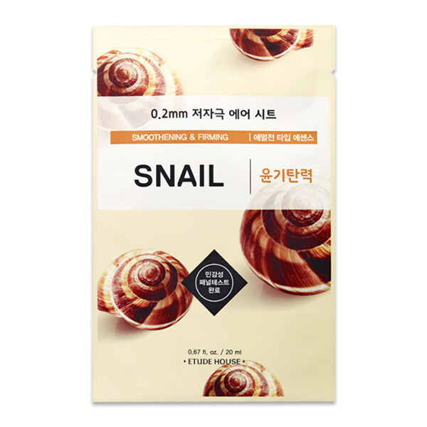 ETUDE HOUSE 0.2 Therapy Air Mask Snail - Misumi Cosmetics Nepal