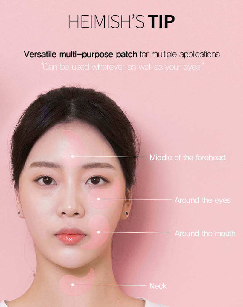 Heimish Bulgarian Rose Hydrogel Eye Patch - Misumi Cosmetics Nepal
