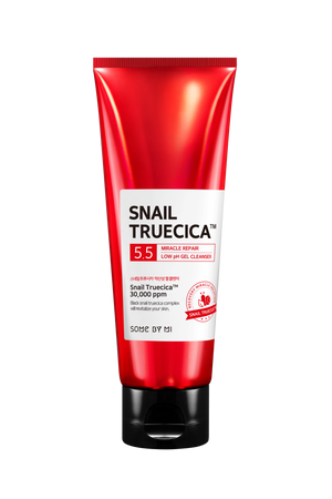 SOME BY MI SNAIL TRUECICA MIRACLE REPAIR LOW PH GEL CLEANSER - Misumi Cosmetics Nepal