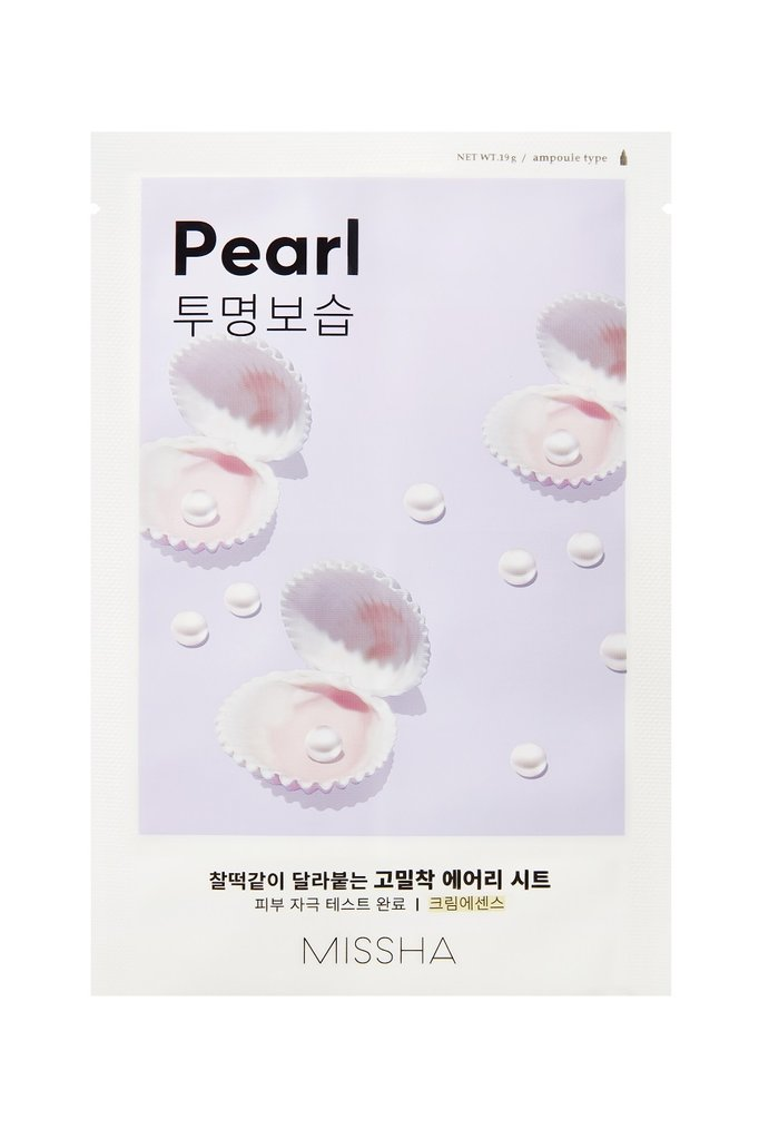 MISSHA Airy Fit Sheet Mask Pearl - Misumi Cosmetics Nepal