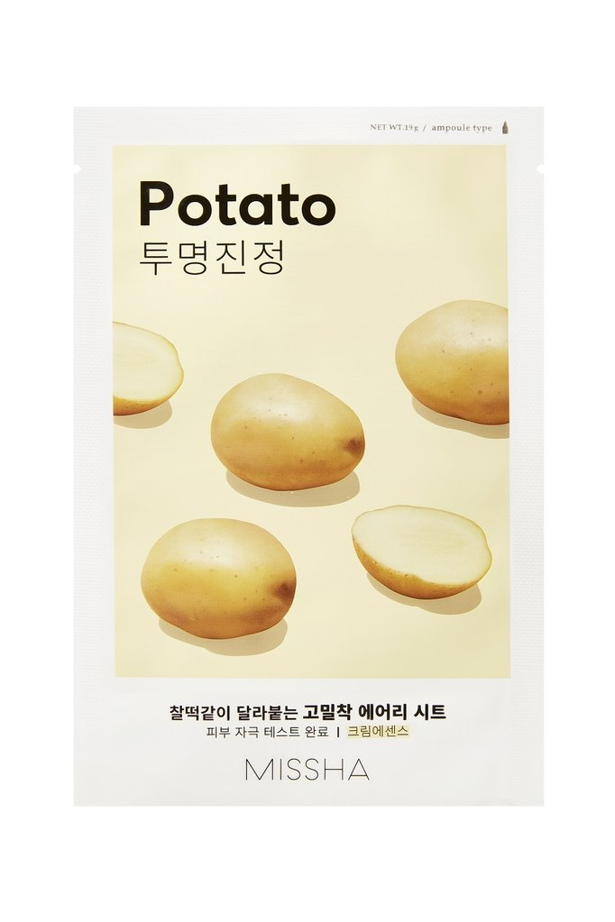 MISSHA Airy Fit Sheet Mask Potato - Misumi Cosmetics Nepal