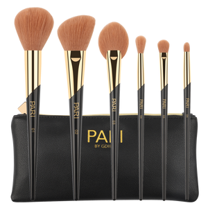 PARI THE VITAL COLLECTION BRUSH SET + BAG - Misumi Cosmetics Nepal