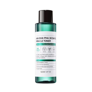 SOME BY MI AHA.BHA.PHA 30 Days Miracle Toner 100ml - Misumi Cosmetics Nepal