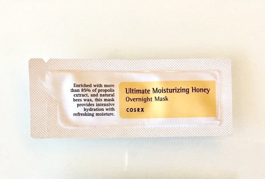 COSRX Ultimate Moisturizing Honey Overnight Mask Sample - Misumi Cosmetics Nepal