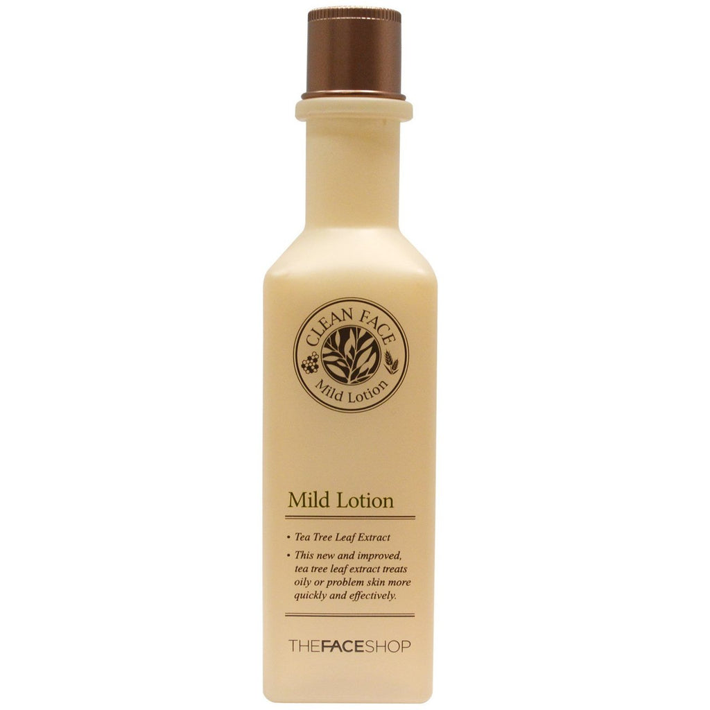 THE FACESHOP  Clean face Mild Toner - Misumi Cosmetics Nepal