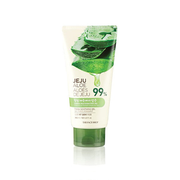 THE FACESHOP Jeju Aloe Fresh shooting Gel (Tube) - Misumi Cosmetics Nepal