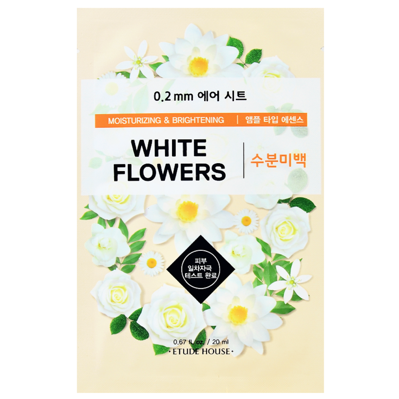 Etude House Therapy 0.2 Air Mask White flower - Misumi Cosmetics Nepal