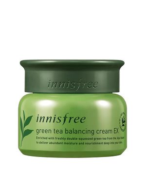INNISFREE Green Tea Balancing Cream EX 50ml - Misumi Cosmetics Nepal