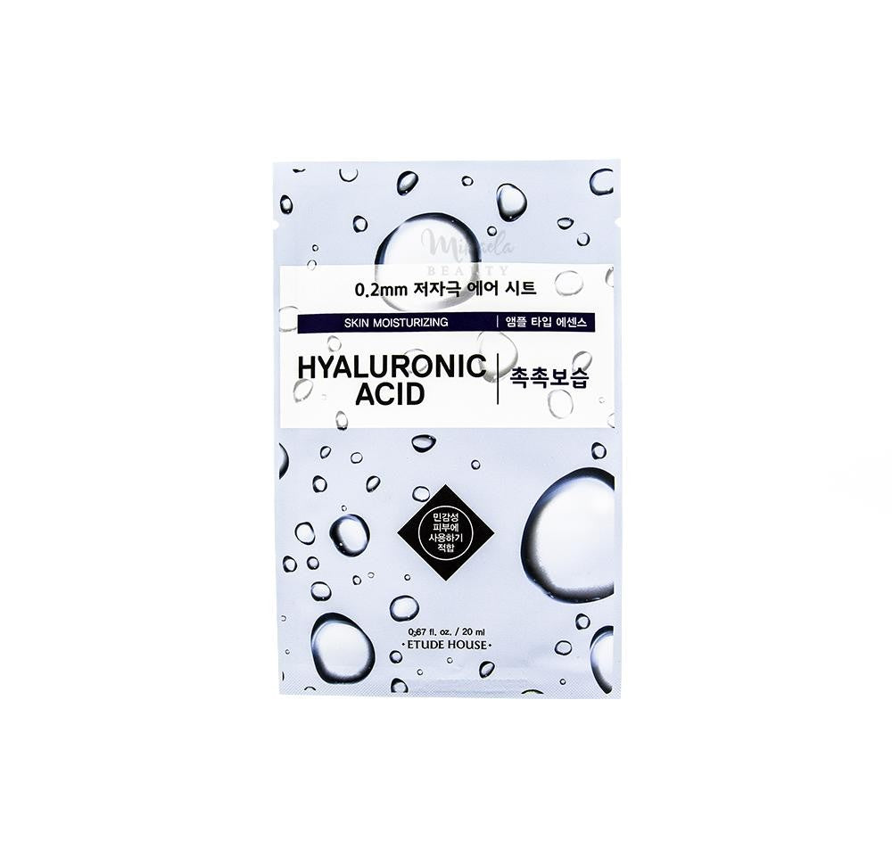 ETUDE HOUSE 0.2 Therapy Air Mask Hyaluronic Acid - Misumi Cosmetics Nepal