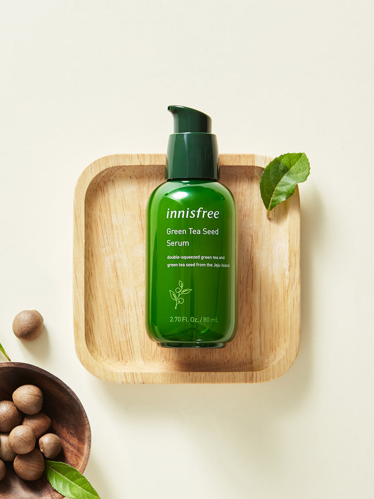 INNISFREE Green Tea Seed Serum 80ml - Misumi Cosmetics Nepal