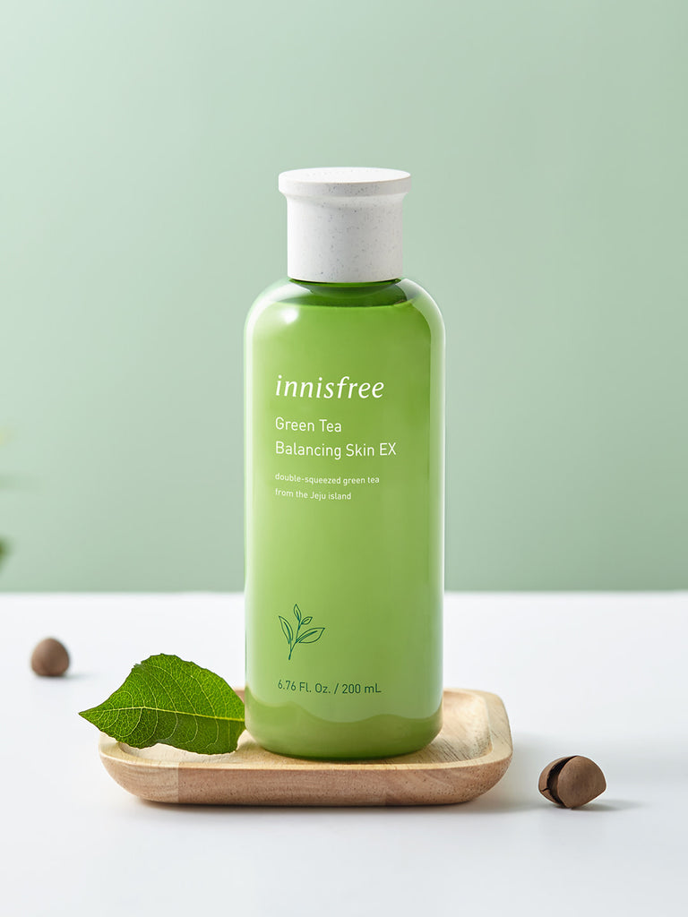 INNISFREE Green Tea Balancing Skin 200ml - Misumi Cosmetics Nepal