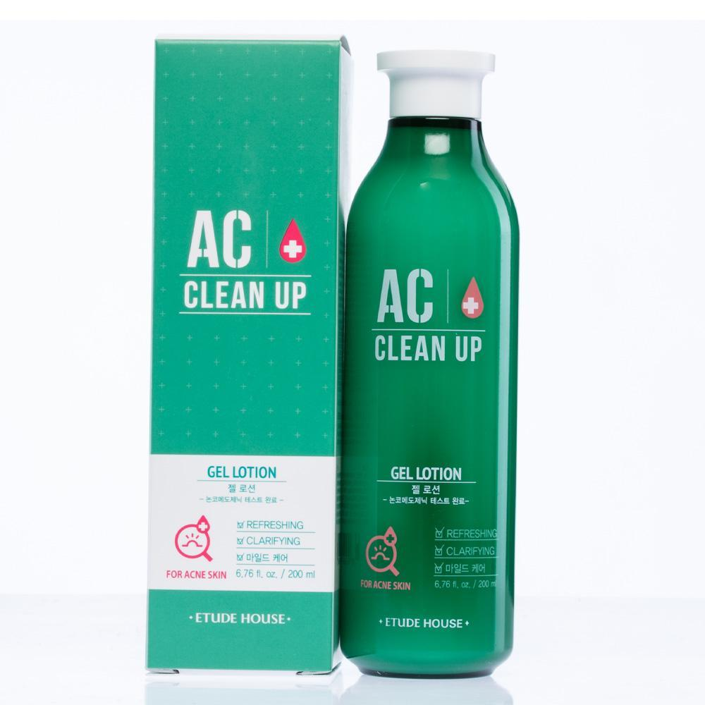 ETUDE HOUSE AC Clean Up Gel Lotion - Misumi Cosmetics Nepal
