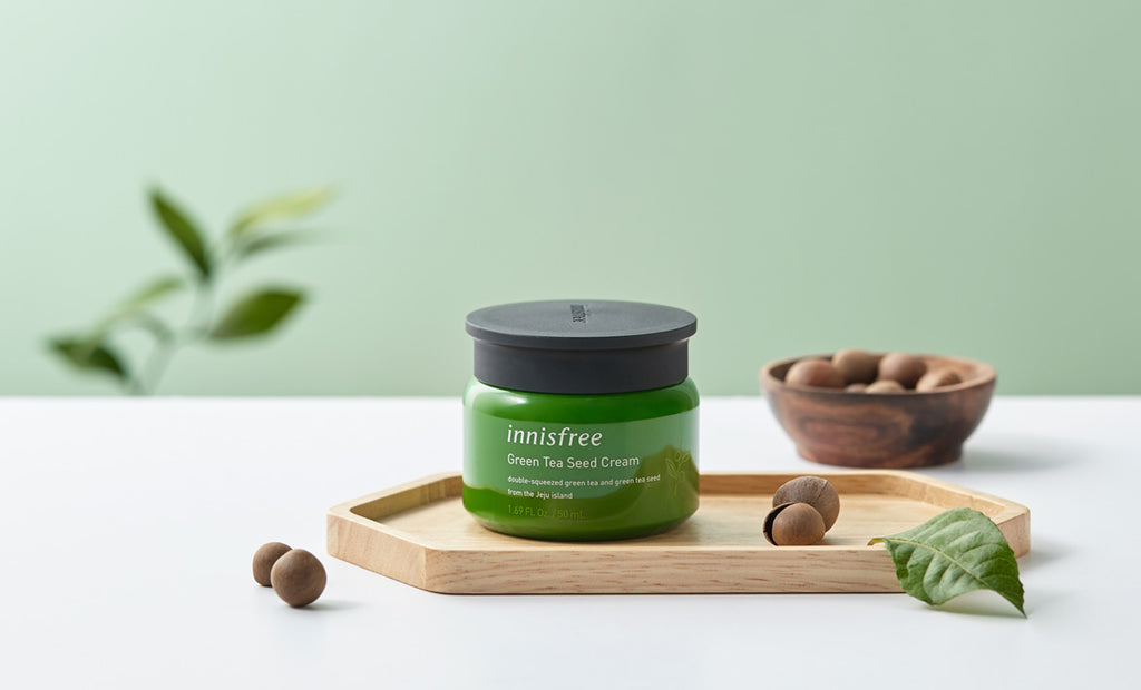 INNISFREE Green Tea Seed Cream 50ml - Misumi Cosmetics Nepal