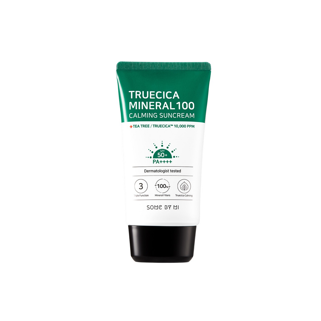 SOME BY MI Truecica Minera 100 Calming Suncream spf 50 PA++++ 50ml - Misumi Cosmetics Nepal