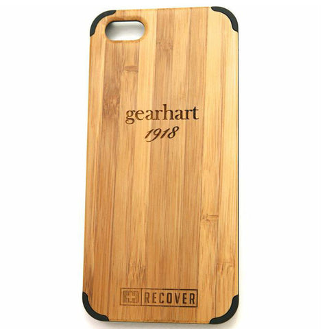 Gearhart Authentic Bamboo Wood iPhone 5 Case