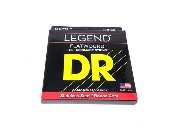 DR Guitar Strings Electric Legend Flat Wound Stainless Steel 11-48.