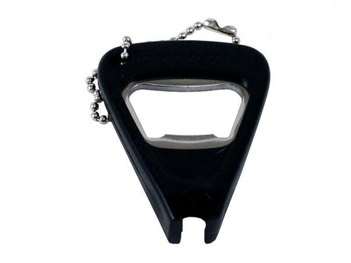 Dunlop Bridge Pin Puller Keychain with built in bottle opener.