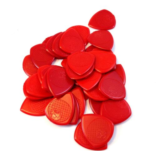 Fred Kelly Picks  Fat Flat Picks  36 Pack  Delrin  Heavy  Good Grip  2.0mm.