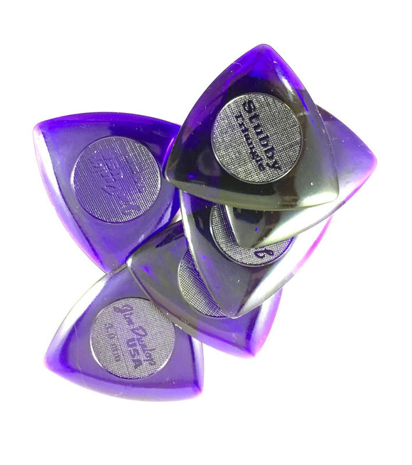 Dunlop Guitar Picks  Tri Stubby  6 Pack  3.0mm 473P3.0  Lexan.
