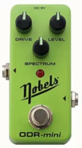 Nobels Overdrive Guitar Effect Pedal ODR-1 Green.