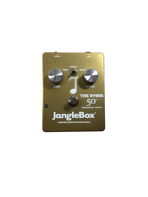 JangleBox The Byrds 50th Anniversary Tribute Compressor Sustainer Guitar Effect Pedal.