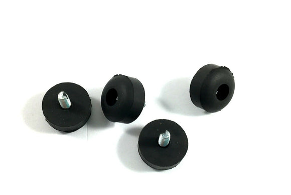 Dunlop MXR Effects Pedal Replacement Feet with Screw Rubber ECB151 Set of 4.