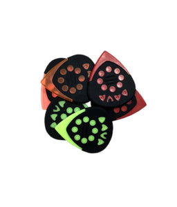 Dava Guitar PIcks Jazz Grip Tips Control Combo Pack 6-Picks.