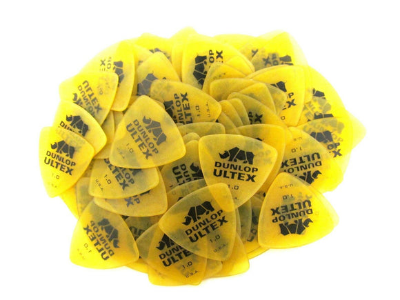 Dunlop Guitar Picks  Ultext  Tri (Triangle)  72 Pack  1.0mm (426R1.0)