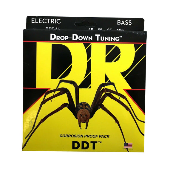DR Bass Strings DDT Drop Down Tuning 45-105