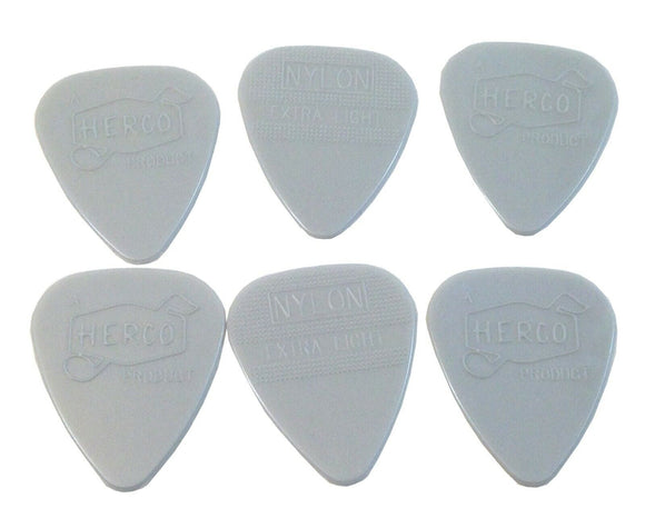 Herco Guitar Picks  Vintage 66  6 Pack  Extra Light  HEV209P .60mm.