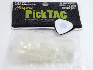 Clayton PickTAC Pick Tacks - keep your picks in your hand 50 Pick TAC.