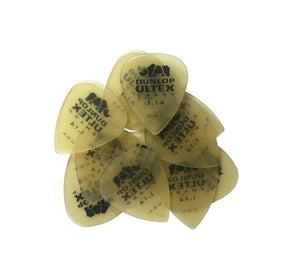 Dunlop Guitar Picks  6 Pack  Ultex Sharp  1.14mm  Extra Hvy  433P1.14.