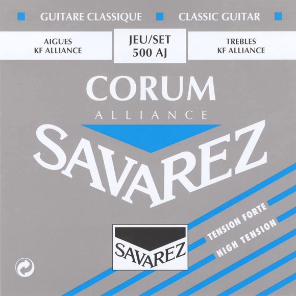 Savarez Guitar Strings Nylon Alliance Corum High Tension 500AJ