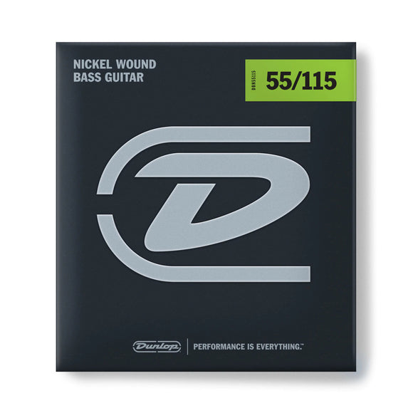 Dunlop Bass Strings - Stainless Steel  - 55-115 4-String