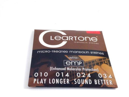 Cleartone Mandolin Strings  EMP Coated  Light  .010-.034.
