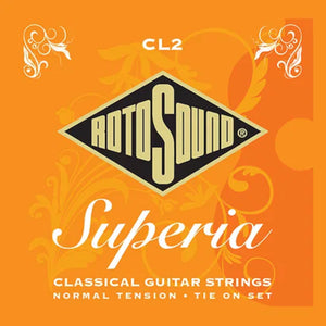 Rotosound Guitar Strings  Classical Superia Normal Tension Tie On End CL2.