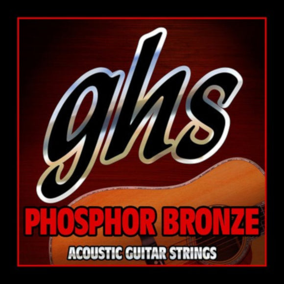 GHS Guitar Strings Acoustic Extra Light Phosphor Bronze 11-50.
