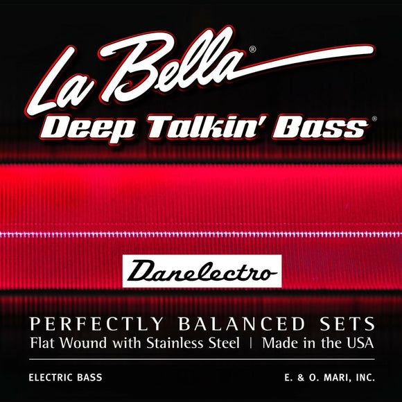 La Bella Bass Strings Danelectro Longhorn 760-FD 42-83 Ball Ends 40