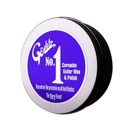 Gerlitz No. 1 Guitar Wax and Polish - To A Mirror Shine Carnauba.