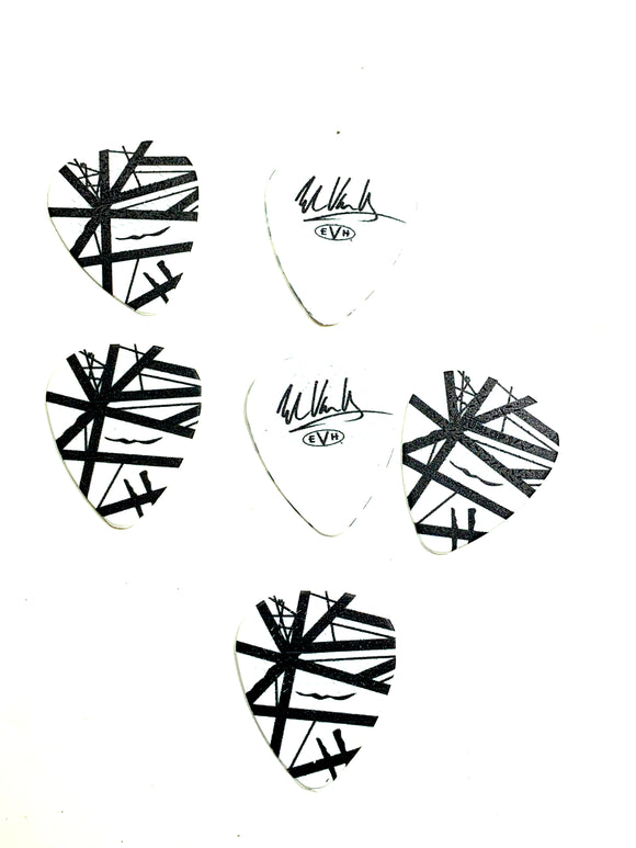 Eddie Van Halen Guitar Picks EVH Starbody Max Grip Collectible.