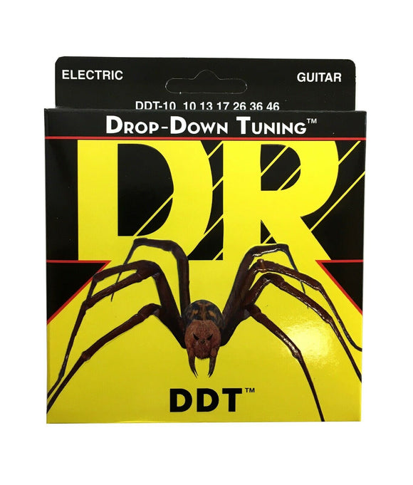 DR Guitar Strings Electric DDT Drop Down Tuning 10-46.
