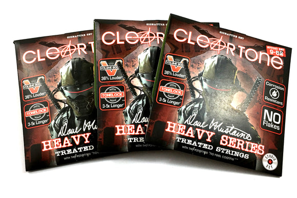 Cleartone Guitar Strings 3-Sets Electric Dave Mustaine Signature 09-52.