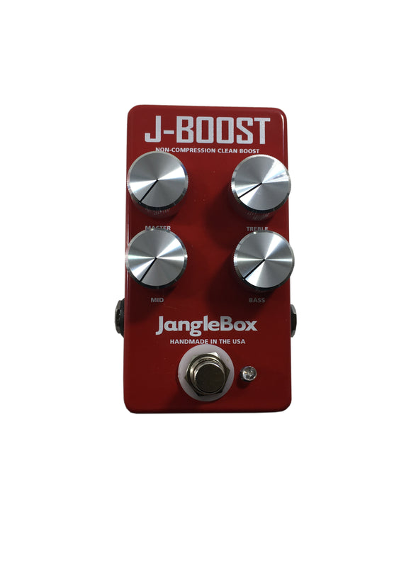 JangleBox J-Boost Clean Boost Drive Guitar Effect Pedal Handmade.