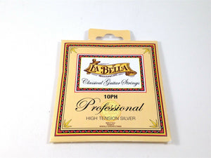 La Bella Guitar Strings Classical  Professional Series High Tension Silver.