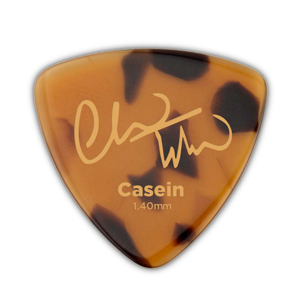 D'Addario Guitar Mandolin Pick - Chris Thile Signature Pick - Casein - Triangle 1.4mm