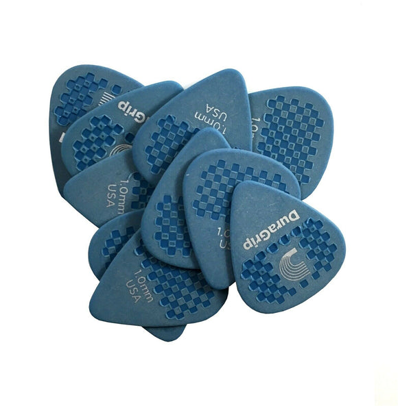D'Addario - Planet Waves Guitar Picks  10 Pack  Duragrip  1.0mm  Super Grip