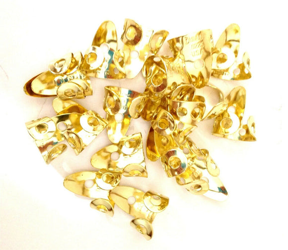 Dunlop Brass Metal Finger Picks  20 Pack  .0225 inch  37R0225.