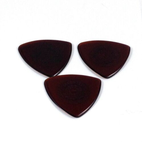 Dunlop Guitar Picks  3 Pack  Primetone Tri Triangle Text Hand Sculpted  1.4mm.